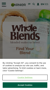 Garnier – Whole Blends Find Your Summer Blend – Win One $1000 gift card ARV of the Grand Prize is $1000.00