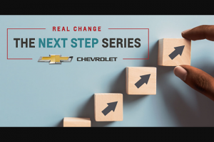 General Motors – Real Change The Next Step Series – Win to Participants entering their senior year of high school) A $10000 check