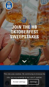 Hofbräu – Oktoberfest – Win A Hofbräu branded Table Set
