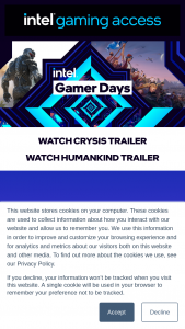 Intel – Gamer Days – Win a Scan Gamer RTX PC with NVIDIDA Ampere GeForce RTX 3070 and Intel Core i7 10700F to be distributed to the selected participants that enters the giveaway (1 per chosen participant).