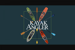 Kayak Angler – Magazine Giveaway – Win one Pelican Getaway 110 HDII Recreational Pedal Kayak (approx