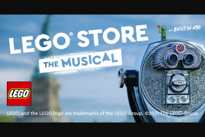 Lego Systems – My Lego Nyc Build Contest – Win shall be awarded a $4000 LEGO gift card