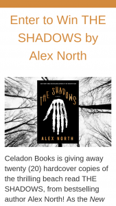 Macmillan – The Shadows By Alex North – Win a(n) One (1) hardcover of The Shadows by Alex North