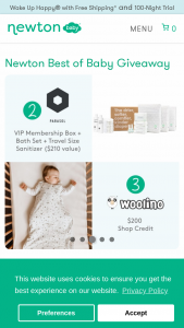 Newton Baby – Best Of Baby Giveaway Sweepstakes