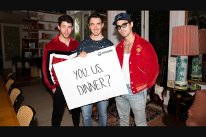Omaze – Jonas Brothers – Win two (2) Ultimate X-PERIENCE VIP Lounge packages for The Jonas Brothers' upcoming concert at The Hollywood Bowl on October 27 2021 round-trip flights