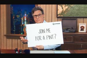 Omaze – Stephen Colbert Sweepstakes