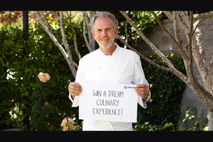 Omaze – Tour The French Laundry Garden With Thomas Keller – Win dinner at The French Laundry and a private tour of The French Laundry Garden