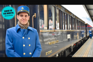 Omaze – Trip On The Venice Simplon-Orient-Express – Win two (2) tickets on the 2022 Venice Simplon-Orient-Express running from London to Budapest and returning to London or Paris per Winner's choice (June 8