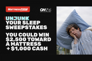 On Air With Ryan Seacrest – Mattress Firm Unjunk Your Sleep Sweepstakes