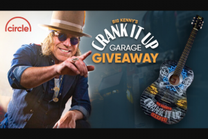 Opry Entertainment – Big Kenny's Crank It Up Garage Sweepstakes