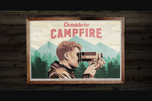 """Outside TV Campfire – Cutty Sark Spirit Of Adventure Summer Contest – Win an adventure trip of winner's choice up to $5000 for winner and one (1) guest (age twenty-one [21] or older) or $5000 cash option (each a """"Grand Prize"""")."""