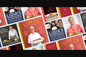 Penguin Random House – Knopf Cooks August 2021 – Win 1 LIDIA'S A POT