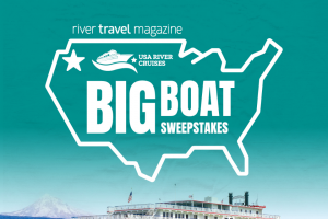 River Travel Magazine – Big Boat – Win includes Big Boat Sweepstakes Columbia River Cruise