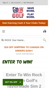 Rock Bottom Golf – Taylormade Sim 2 Giveaway – Win SIM2 Driver 2nd Prize TaylorMade SIM2 Rescue 3rd Prize 3 Dozen TP5 Balls (winners choice of TP5 or X)