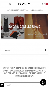 Rvca – Camille Rowe Sweepstakes