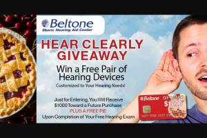 USA Today – Hear Clearly Giveaway Sweepstakes