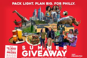 Visit Philadelphia – Pack Light Plan Big Summer Giveaway Sweepstakes