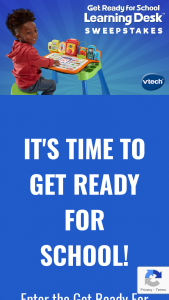 Vtech Toys – Get Ready For School Learning Desk – Win a $500 Walmart Gift Card