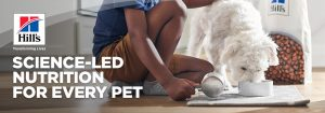 Hill's Pet Nutrition – Win 1 of 3 grand prizes of a Year's supply of pet food each OR 1 of 162 minor prizes