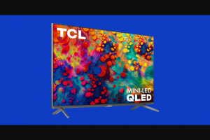 CBS Sports – Wired One Of Our Favorite Tvs – Win consists of one 75-inch TCL 6-Series TV