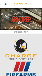 Charge Media – 2021 Armorers Class – Win a voucher for the cost of a Heckler & Koch sanctioned armorer training class with an approximate retail value of  USD$500.00 up to USD$1000.00 in the form of a VISA Gift Card