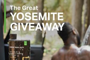 Every Man Jack – Great Yosemite Giveaway Sweepstakes