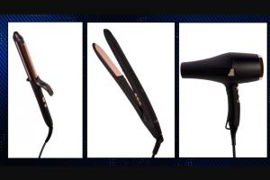 EXTRATV – Beauty Bundle From Nphilanthropy – Win a curling iron