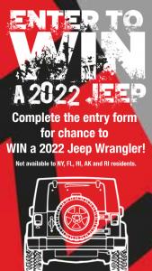 E-Z 4×4 – Win A 2022 Jeep Wrangler – Win a 2022 Jeep Wrangler