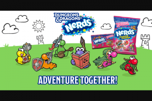 Ferrara Candy – Nerds Dungeons And Dragons  Sweepstakes