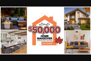 """Gannett – Hattiesburg American Ultimate $50000 Home Makeover – Win Winner"""" and awarded a check in the amount of $25000."""