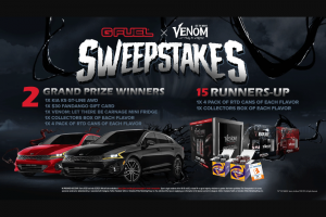 Gfuel – Venom Let There Be Carnage Sweepstakes