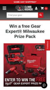 Gme Supply – Gear Expert Giveaway – Win Milwaukee M18 6-Tool Combo Kit (2696-26).