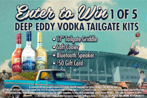 Heaven Hill – Deep Eddy Tailgate Sweepstakes