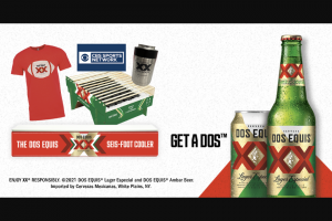 Heineken Dos Equis – Tailgate Champion Photo Contest Sweepstakes