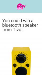 HGTV – 2021 October Birthday Speaker – Win a PAL BT portable Bluetooth speaker in either black