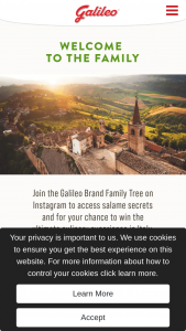 Hillshire – Galileo Foods Italy Trip Giveaway – Win a Trip to the Marche region of Italy for one winner and one guest for seven days six nights valued at $7500 US ARV of the Grand Prize is $7500.00