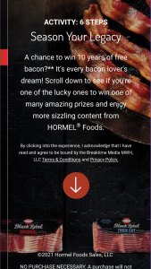 Hormel – Black Label Brand Bring Home The Bacon  Sweepstakes