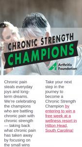 Iheart – Arthritis Foundation Wellness Retreat Giveaway Sweepstakes