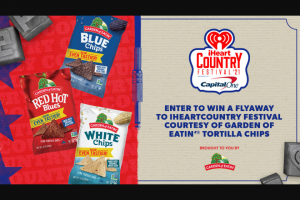 Iheart – Hain Celestial Garden Of Eatin' Iheartcountry Festival – Win a trip for two to Austin
