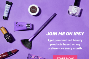 Ipsy – 100k Giveaway – Win one prize package consisting of $10000 USD and beauty