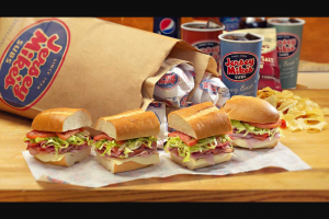 Jersey Mike's – Rose Bowl Stadium – Win (4) tickets to the big game at the Rose Bowl Stadium in Pasadena