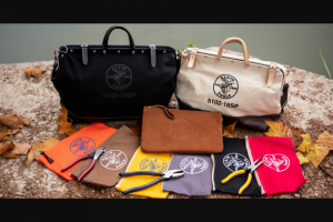 Klein Tools – $500 In Klein Tools & Custom Canvas Bag – Win a Klein Tools Custom Tool Bag and $500 in Klein Tools at MAPP/Retail Value