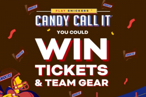Mars Wrigley Confectionery – Candy Call It  – Win game as selected by the Grand Prize winner and subject to availability