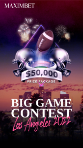 Maxim – Big Game Experience Los Angeles 2022 Sweepstakes