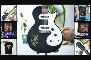 Oakland Coffee – Signed Guitar And Coffee Sweepstakes
