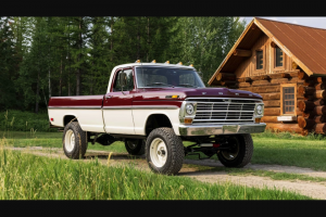 """Omaze – Custom 1969 Ford F-100 4×4 – Win a 1969 Ford F-250 which has been converted to F100 specs by Gateway Bronco (the """"Grand Prize"""")."""