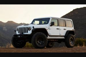 "Omaze – Custom Jeep Wrangler Rubicon 392 – Win a 2021 Jeep Wrangler Rubicon 392 custom-modified by LGE-CTS and Baja Forged (the ""Grand Prize"")."
