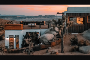 Omaze – Vacation For Four At This Private Oasis Near Joshua Tree – Win a five (5) night