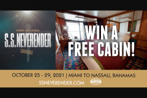 Revolver – Coheed And Cambria Ss Neverender Cruise Giveaway Sweepstakes