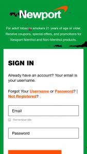 Rj Reynolds – Newport Roll 7 Payday  – Win one (1) $500.00 Prepaid Card